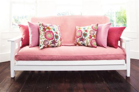 light pink futon cover pink futon cover bm furnititure