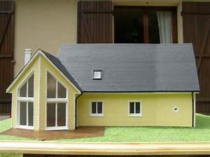 maison a ossature bois le blog de serialmaquetteur With maquette d une maison 13 ossature bois