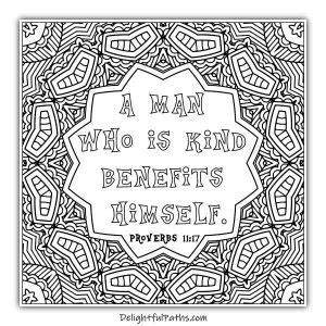 delightful paths adult bible coloring book proverbs delightful paths