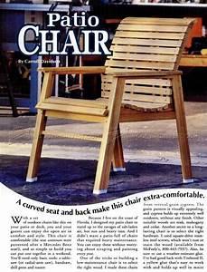 Patio Chair Plans • WoodArchivist