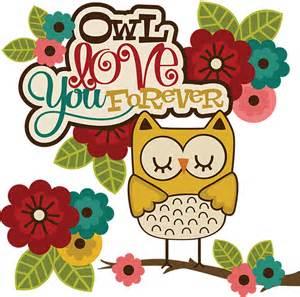 Owl Love You Forever Clip Art