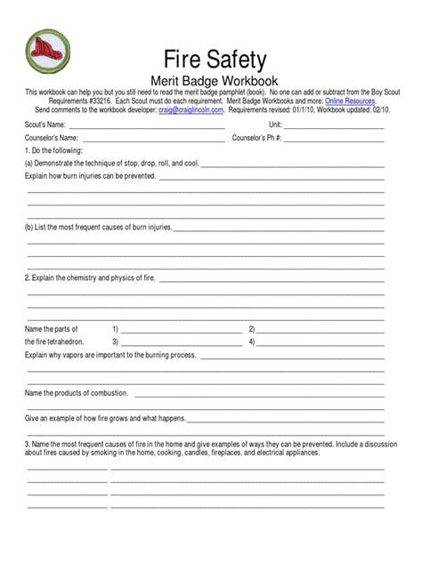 tenderfoot requirements worksheet goodsnyc