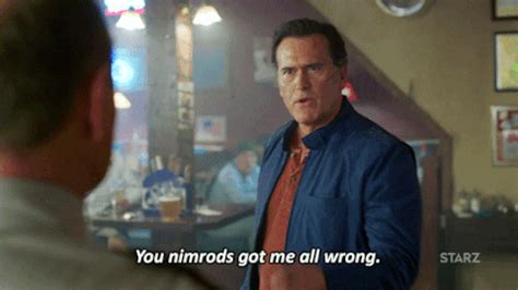 Bruce Cbell Memes - angry bruce cbell gif by ash vs evil dead find share on giphy