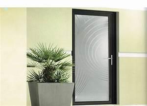 Porte D Entrée Vitrée Aluminium : installation de porte d 39 entr e enti rement vitr e ~ Melissatoandfro.com Idées de Décoration