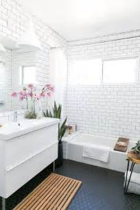 subway tile bathroom floor ideas 33 chic subway tiles ideas for bathrooms digsdigs