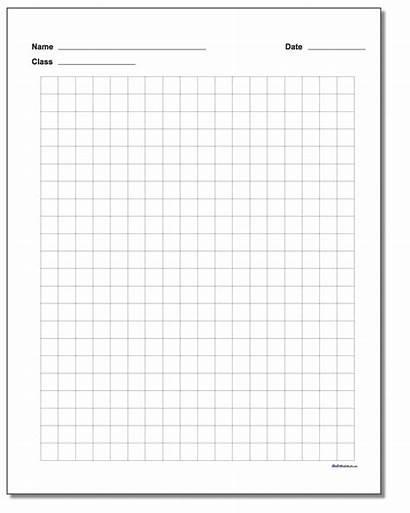 Graph Paper Printable Metric Plain Block Worksheets