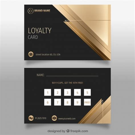 privilege card template privilege vectors photos and psd files free