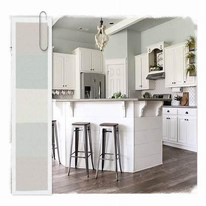 Farmhouse Colors Paint Popular Most Kitchen Interior