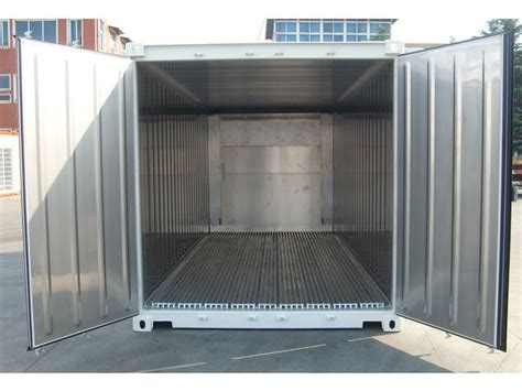 consommation chambre froide conteneur container contenair maritime et stockage 20