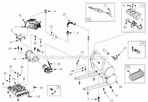 Campbell Hausfeld Fp209501 Parts List And Diagram