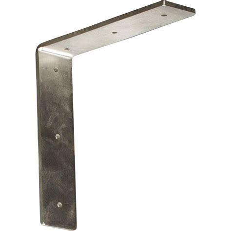 Steel Corbels by Ekena Millwork 8 In X 2 In X 8 In Stainless Steel