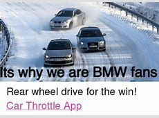 Its Why We Are BMW Fans Rear Wheel Drive for the Win! Car