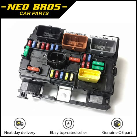 Genuine Engine Bay Fuse Box Bsm For Citroen Picasso