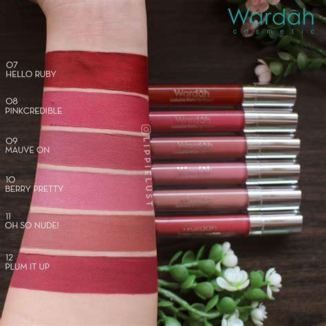 exclusive matte wardah lipcream 1 1 18 ready wardah exclusive matte lipcream wardah lip