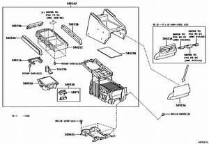Console Box  U0026 Bracket For 2008