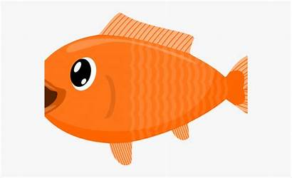 Goldfish Isda Clipart Cartoon Transparent Clear Fishery
