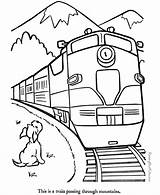 Coloring Train Pages Caboose Popular Railroad sketch template
