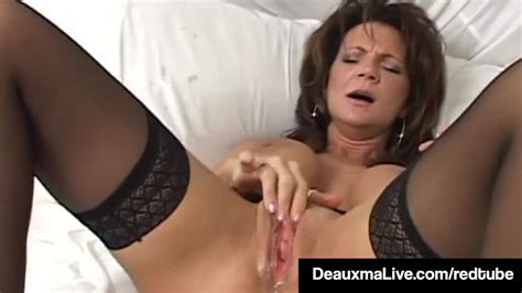 Texas Cougar Deauxma Squirts Her Juice While Dildo Banging Redtube Free Female Orgasm Porn