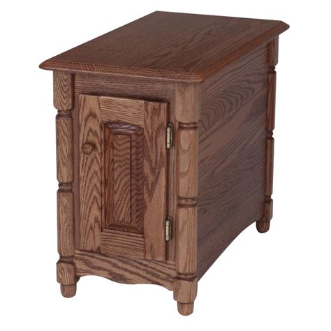 Chair Side Tables Oak by Solid Oak Country Style Chair Side Table 15 Quot X 27 Quot The