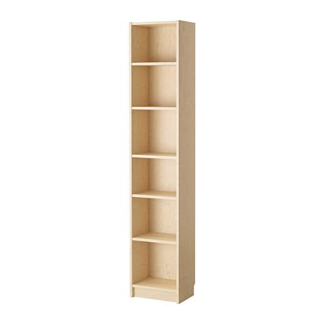 tall narrow bookcase ikea billy bookcase birch veneer ikea