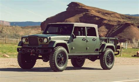 Jeep Truck Concept by 2019 Jeep Wrangler Truck Price Release Date
