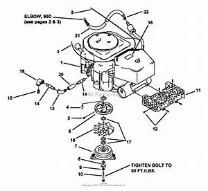 Snapper Z2205kv  80920  22 Hp Hydrogear Drive Ztr Series 5 Parts Diagram For 18  U0026 22 Hp Engine