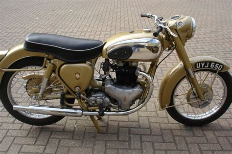 1954 Bsa Golden Flash Classic British Motorcycle