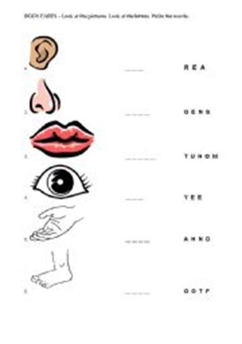 english teaching worksheets body parts