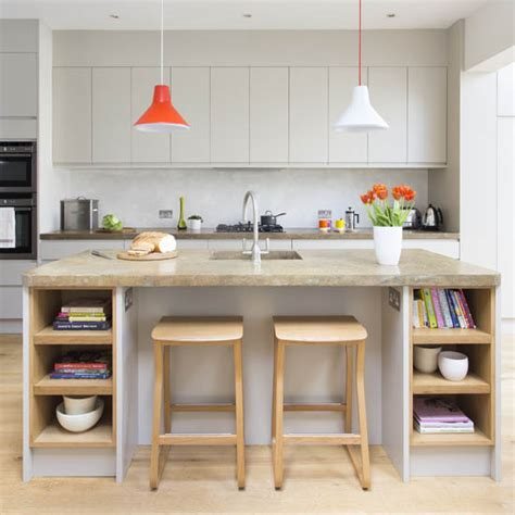 contemporary kitchen diner contemporary grey kitchen diner makeover ideal home 2483