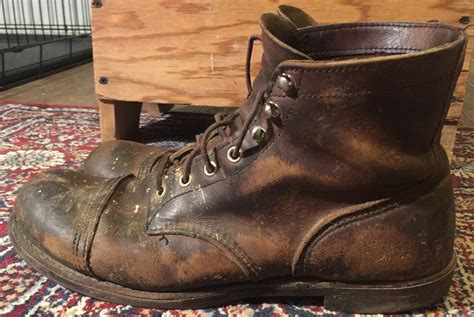 red wing  iron ranger  years fade   day