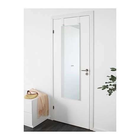 the door mirrors garnes the door mirror white 38x155 cm ikea