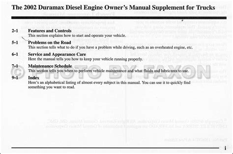 car repair manual download 2002 chevrolet silverado user handbook 2002 chevy and gmc 6 6l duramax diesel owners manual supplement sierra silverado