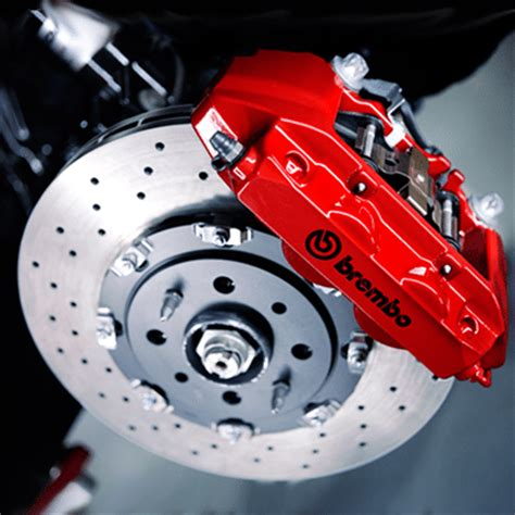 brembo  abarth kit mm drilled  floating front