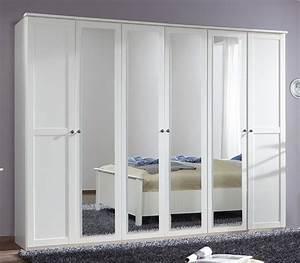 Armoire 6 Portes : armoire 6 portes chalet blanc ~ Teatrodelosmanantiales.com Idées de Décoration