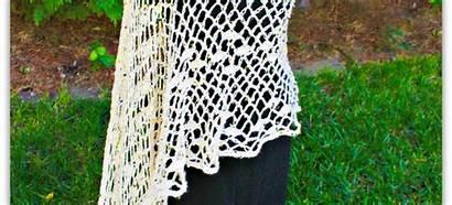 Crochet Soiree Pattern Shawl Chiffon
