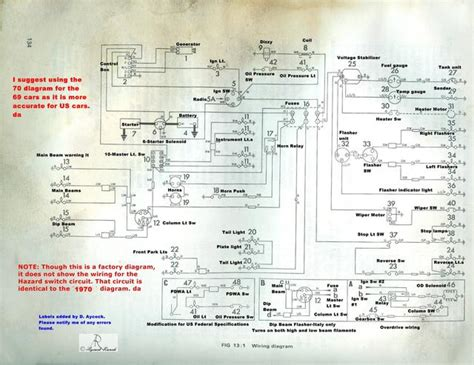 1969 Gt6 Wiring Diagram by 69 Mk3 Spitfire Headlights Master Switch Curcuit