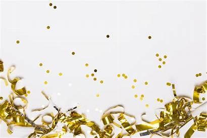 Dorado Confeti Confetti Freepik Gratis Golden Gouden