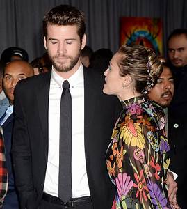 "Miley Cyrus and Liam Hemsworth – ""Thor: Ragnarok"" Premiere ..."