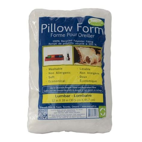 walmart pillow forms lumbar pillow form walmart ca