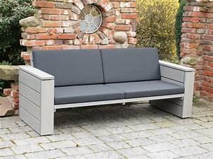 Loungemöbel Holz Outdoor : lounge sofa outdoor holz ~ Indierocktalk.com Haus und Dekorationen