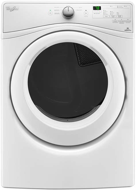 Whirlpool Duet White Electric Dryer - WED7590FW
