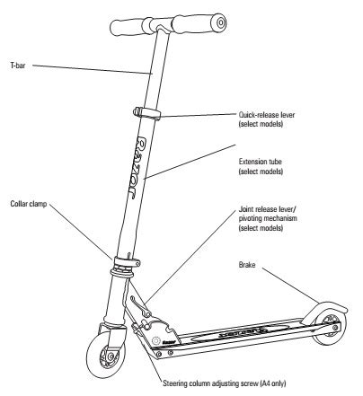 Kick Scooter Parts Scooters