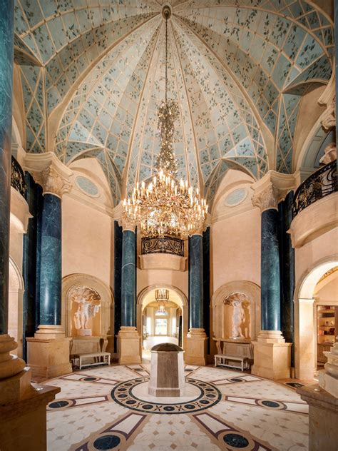 neoclassical chateau estate texas