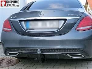 Anhängerkupplung Mercedes C Klasse : anh ngerkupplung f r mercedes c klasse w205 amg optik ~ Jslefanu.com Haus und Dekorationen
