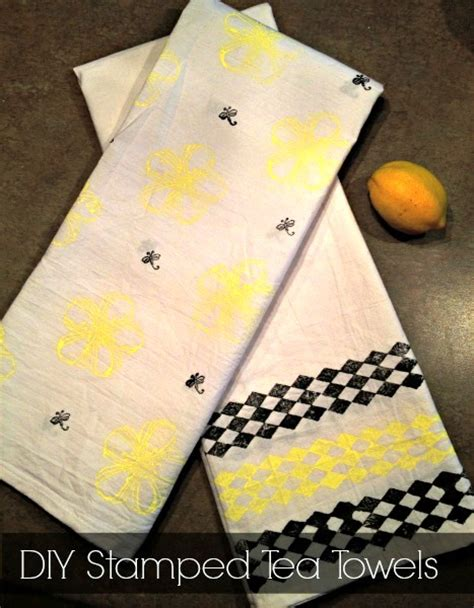 diy sted tea towels my crafty spot when life gets