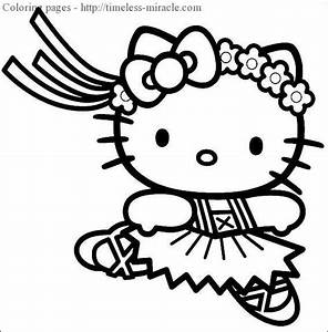 Princess hello kitty coloring pages - timeless-miracle.com