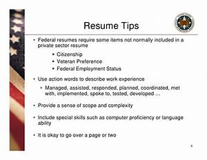 Resumes For Federal Jobs Usajobs Com Pursuing Employment Opportunities In The