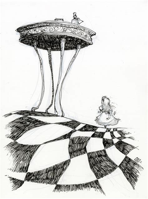 Best Alice In Wonderland Drawings Ideas And Images On Bing Find