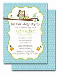 baby shower invitations owl theme theruntimecom With owl themed baby shower invitation template