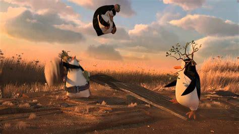 Madagascar Penguins Team Work